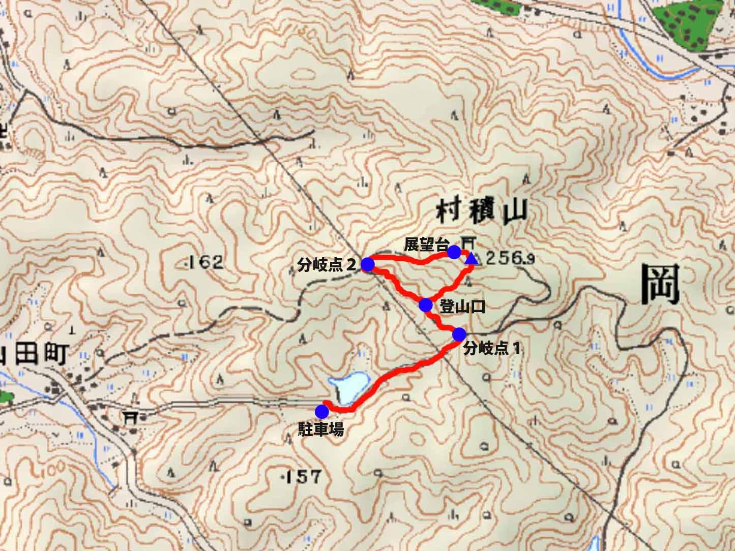 愛知の低い山を適当に散策。低山でも気分はアルプス級 ―――!